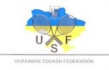 Logo of Ukrainian Squash Federation